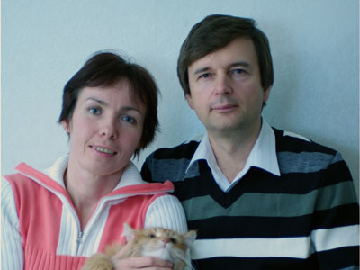 Ольга Карпенко и Александр Букалов